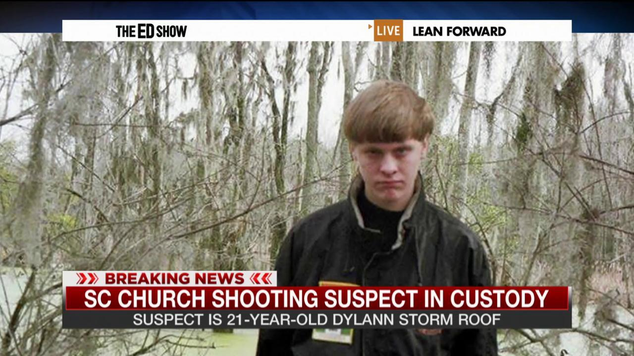 Church shooting suspect in custody