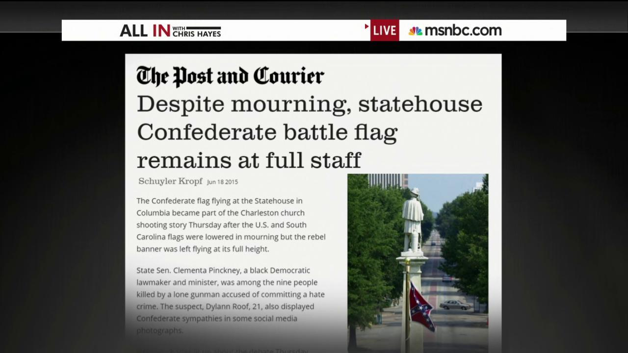 Confederate flag controversy revived