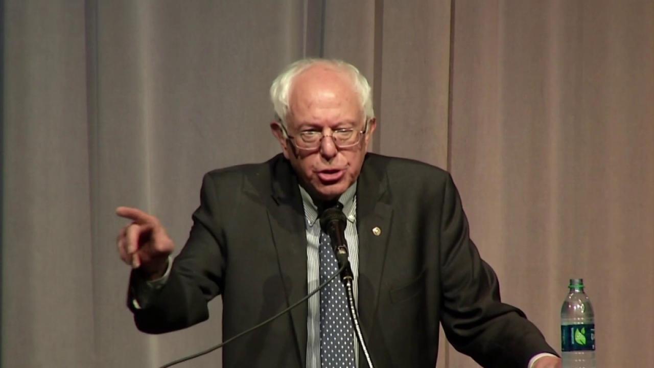 Why Bernie Sanders is drawing big NH crowds