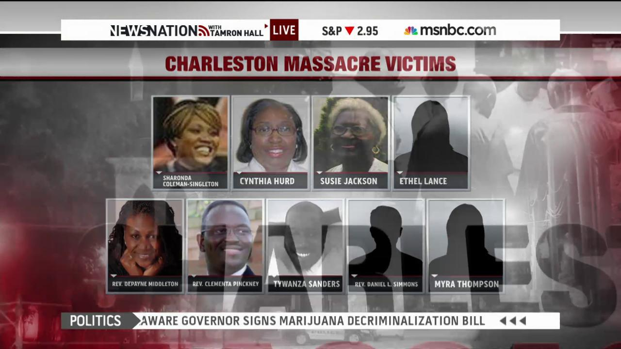 Charleston 'will never be the same'
