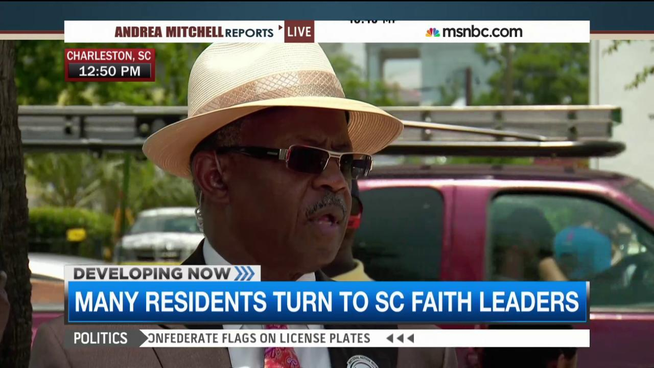 Charleston pastor calls for justice, answers