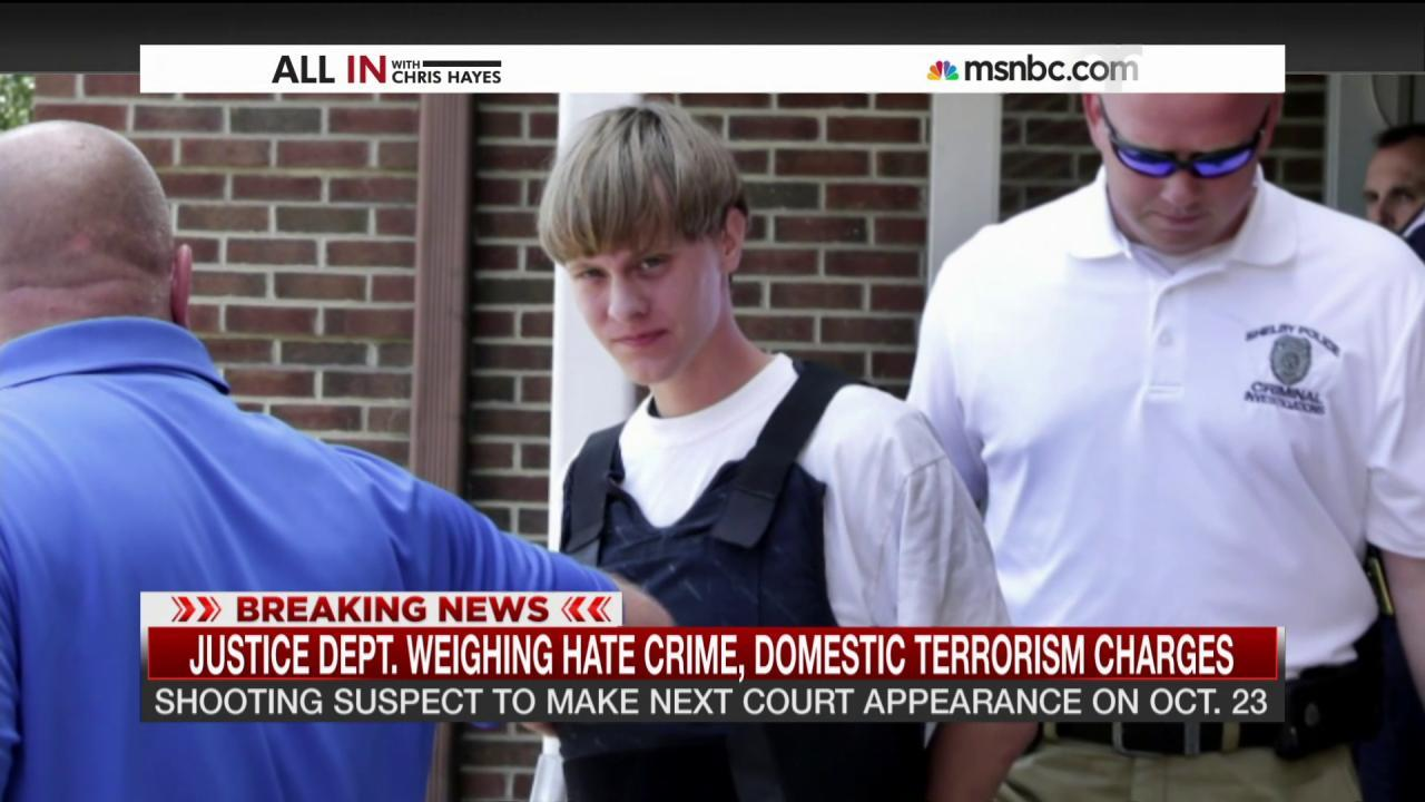 Church shooting suspect makes first court...