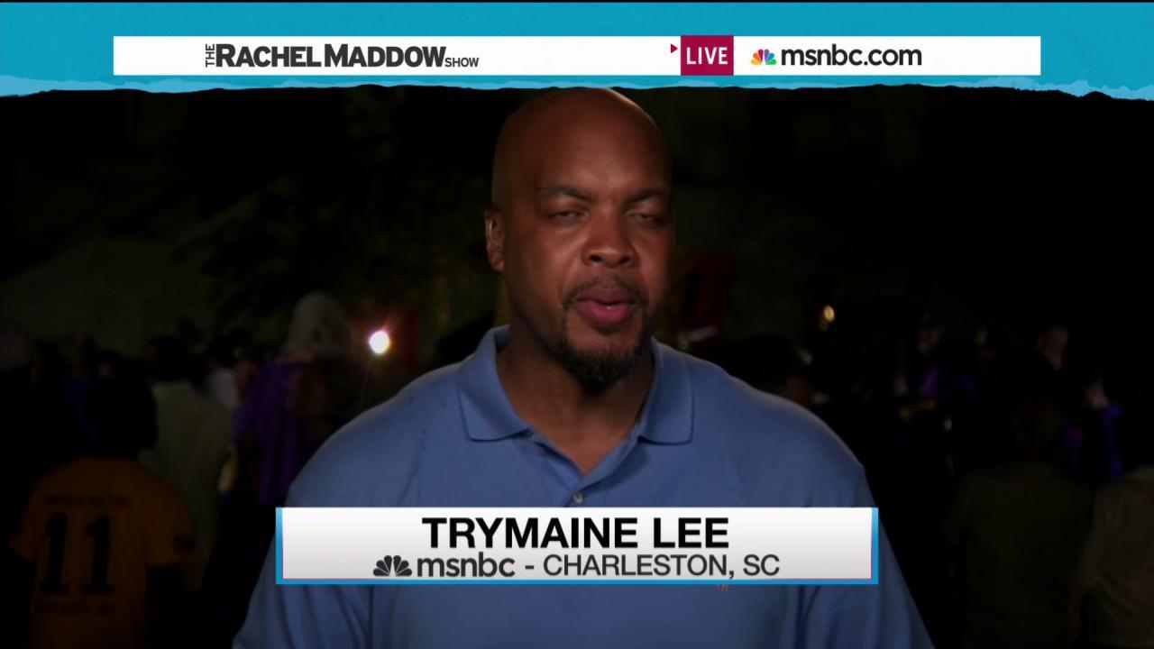 Charleston rallies in wake of tragic violence