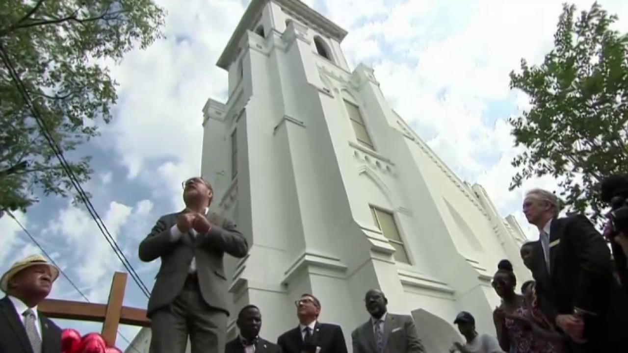 Charleston community in deep despair