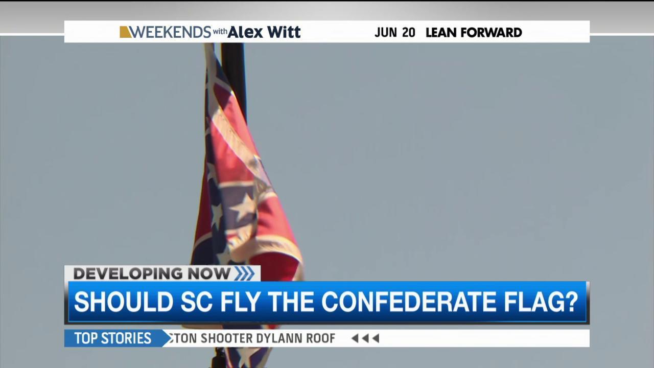 Confederate flag symbolism sparks debate
