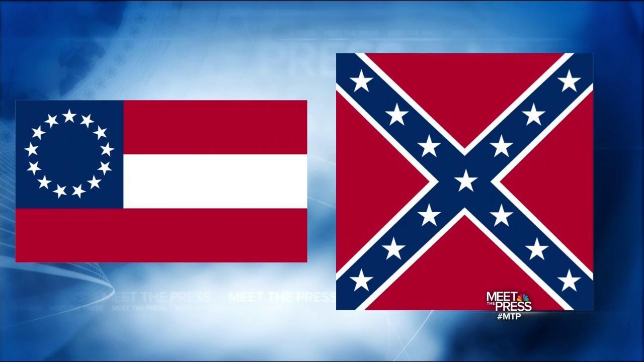 """the battle of the confederate flag William porcher miles, the chairman of the confederate congress's """"committee on the flag and seal,"""" designed and submitted what was later known as the """"battle flag"""" his design was rejected in favor of the """"stars and bars"""" design that more resembled the american flag."""