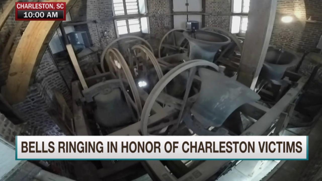 Church bells ring across Charleston, SC