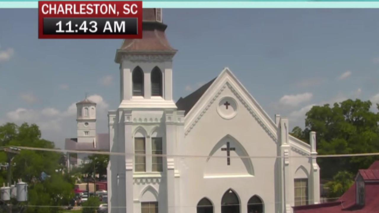 SC church holds first service since massacre
