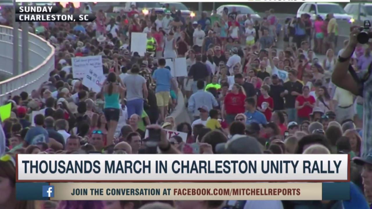 Thousands march in in solidarity in SC