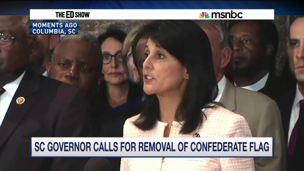 Haley seeks to remove Confederate flag