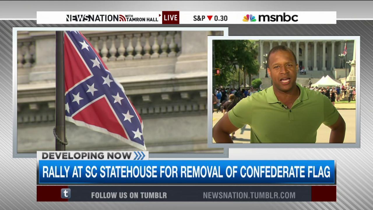Will lawmakers remove the Confederate flag?