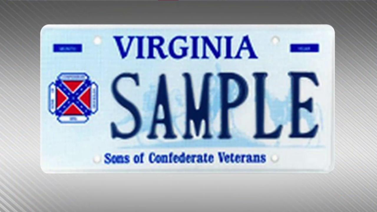 State abandons Confederate license plates