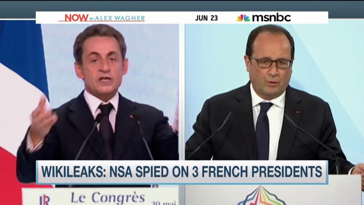 Wikileaks says NSA spied on 3 French...