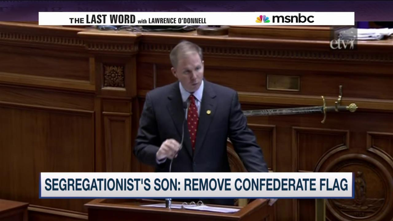 Segregationist's son: Remove Confederate flag