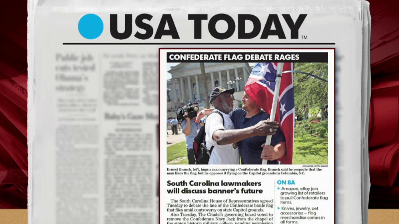 Capehart: Flag no better than a swastika