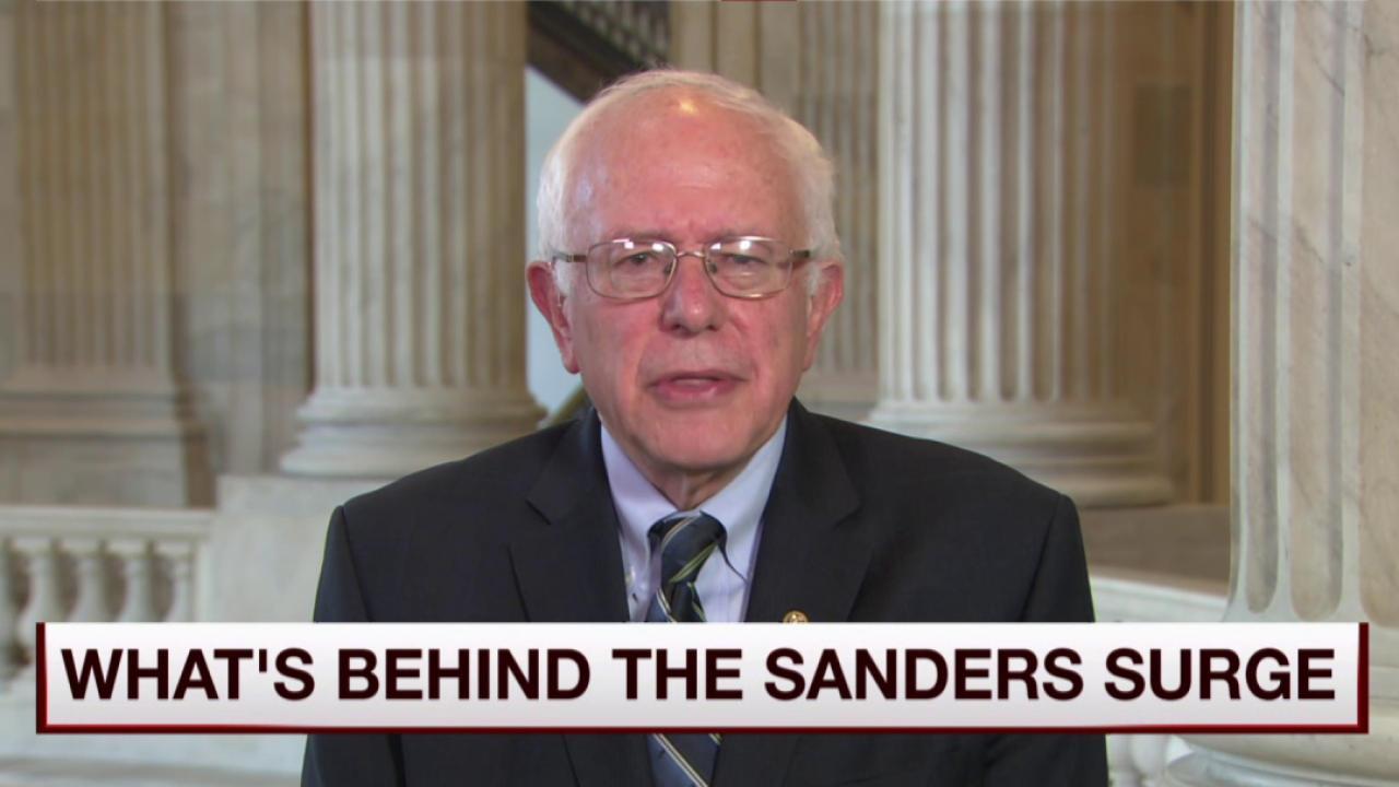 Sanders: I have taken on big money interests