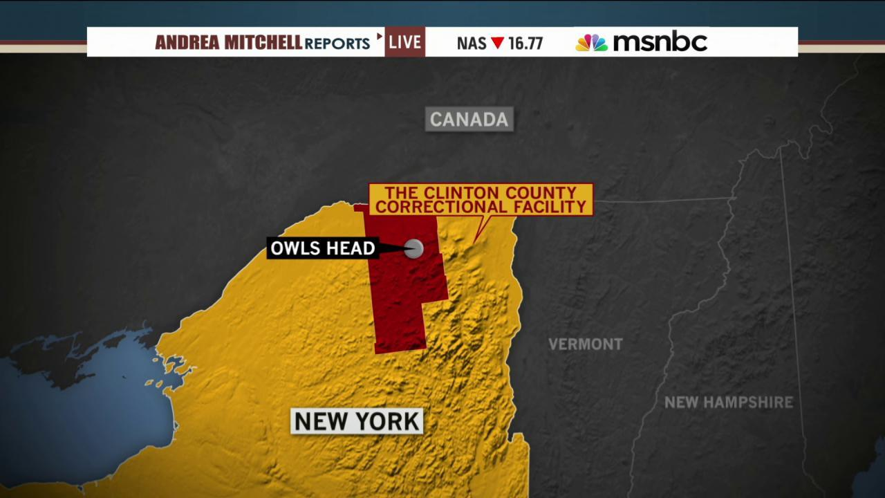 Hunt for escaped prisoners narrows in NY