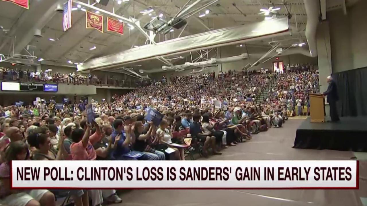 Sanders gives Team Hillary cause for concern