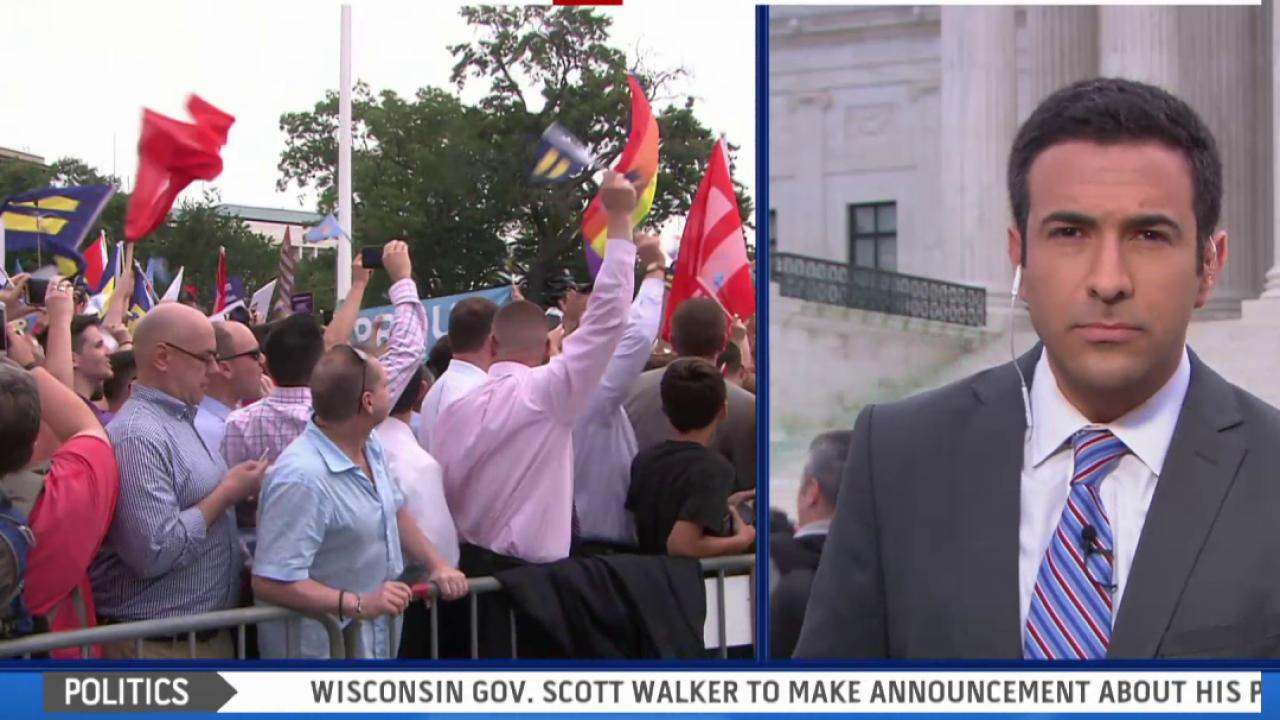 SCOTUS rules in favor of marriage equality