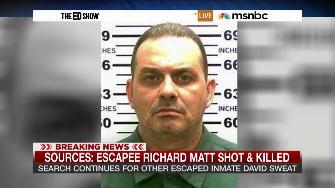 Escapee Richard Matt shot dead