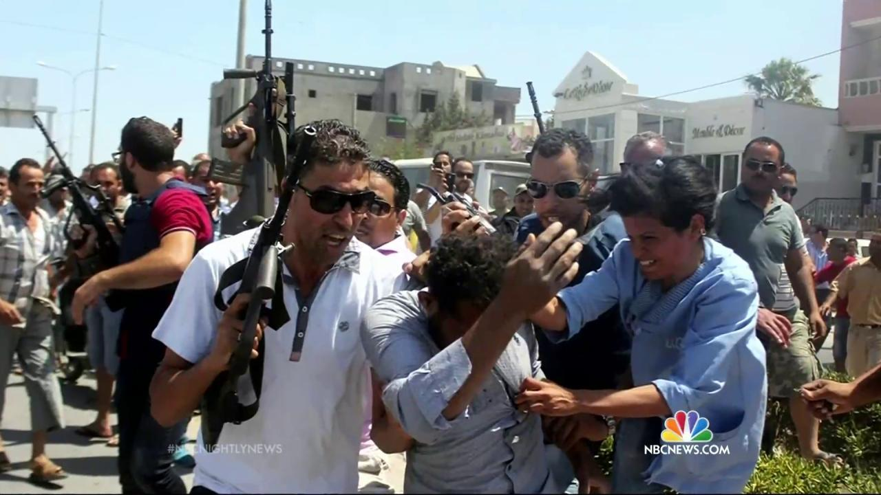 Gunmen Kill at Least 37 People in Attack on Tunisia Beach
