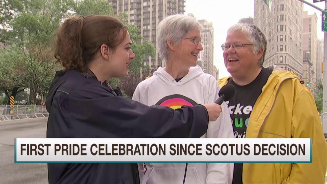 NYC's Pride March underway