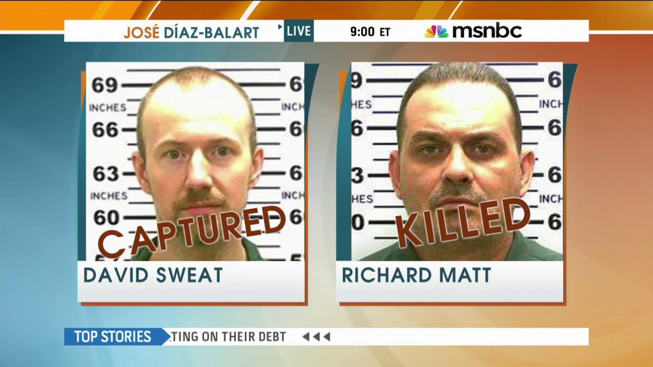 Manhunt for escaped NY convicts ends