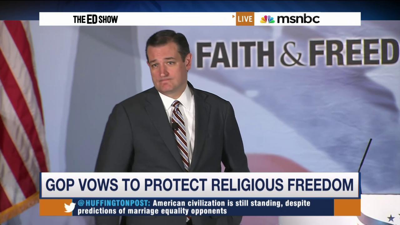 GOP candidates resist gay marriage