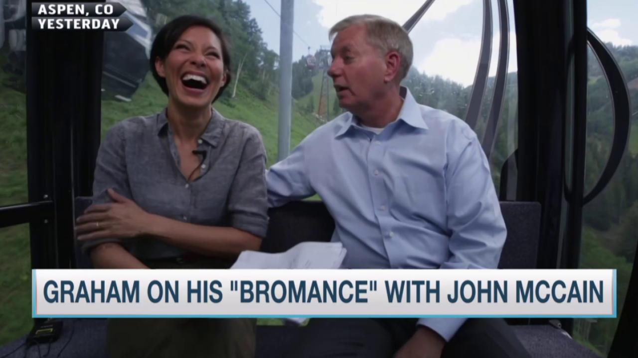 Lindsey Graham talks 'bromance' with McCain