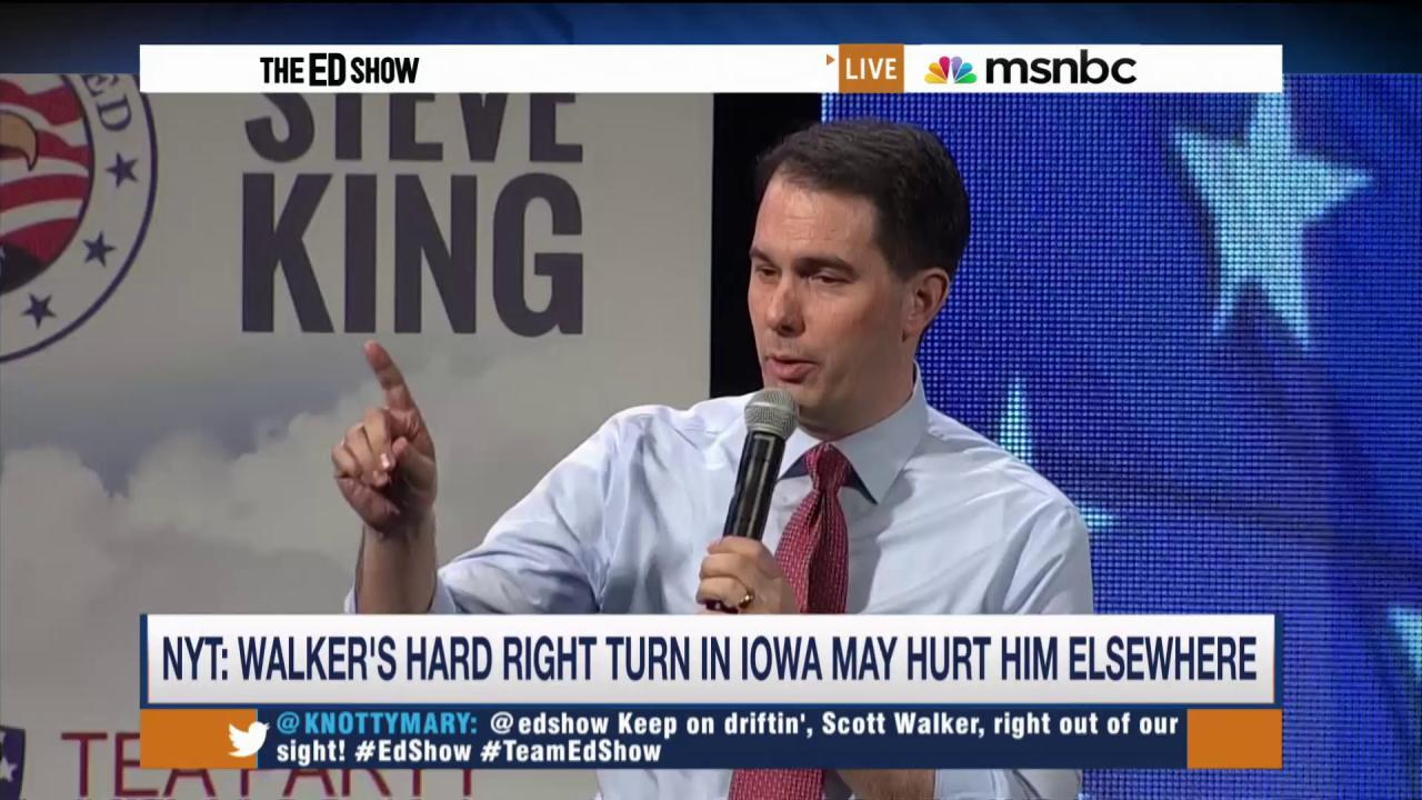 Scott Walker to enter Presidential race on...
