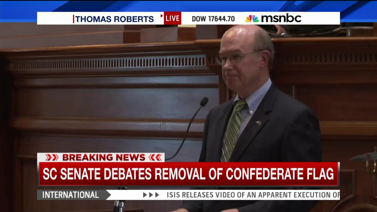 Will SC state Senate vote to take down flag?