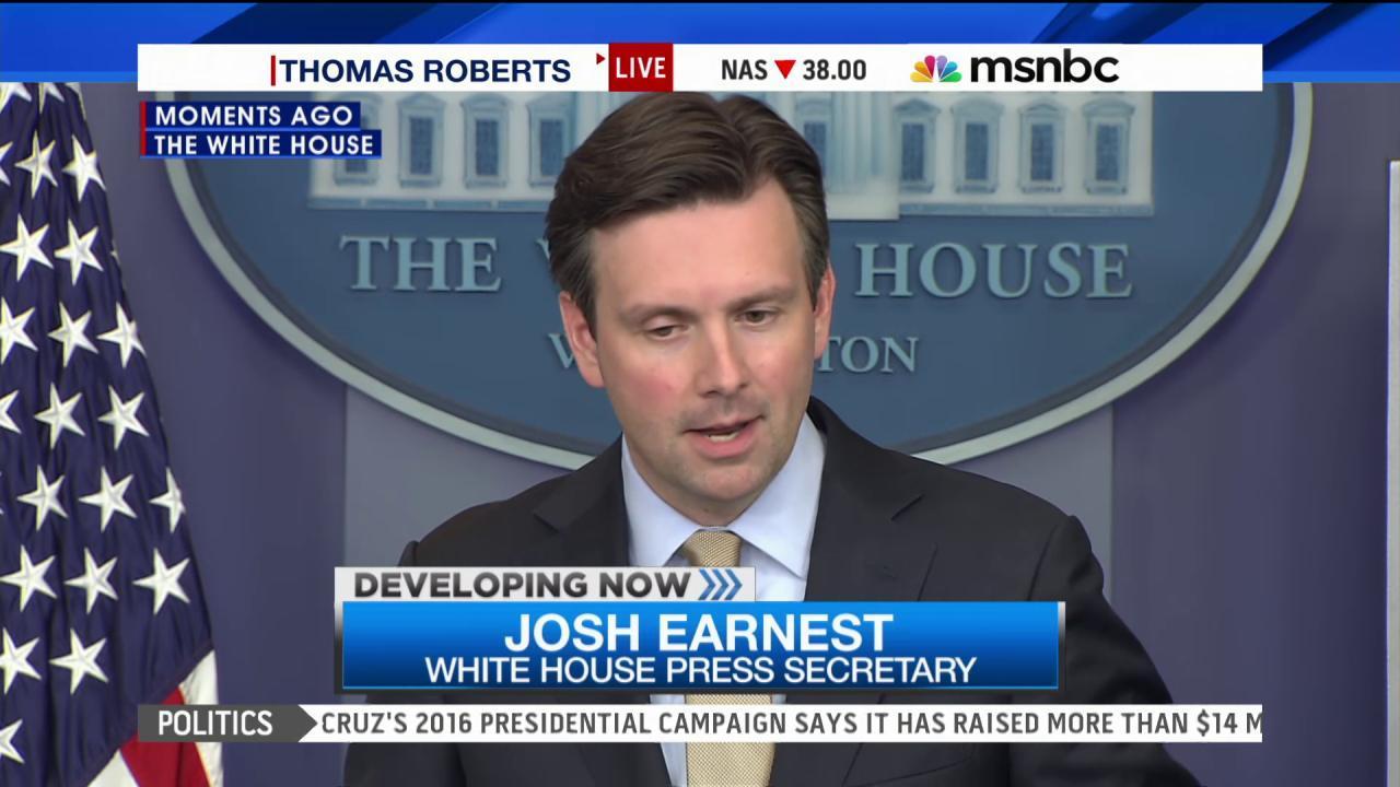 White House addresses the Greece crisis
