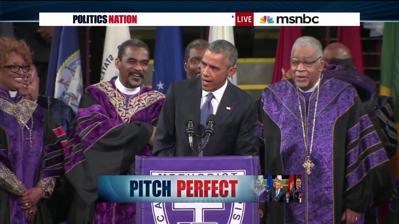 Inside Obama's 'Amazing Grace' speech