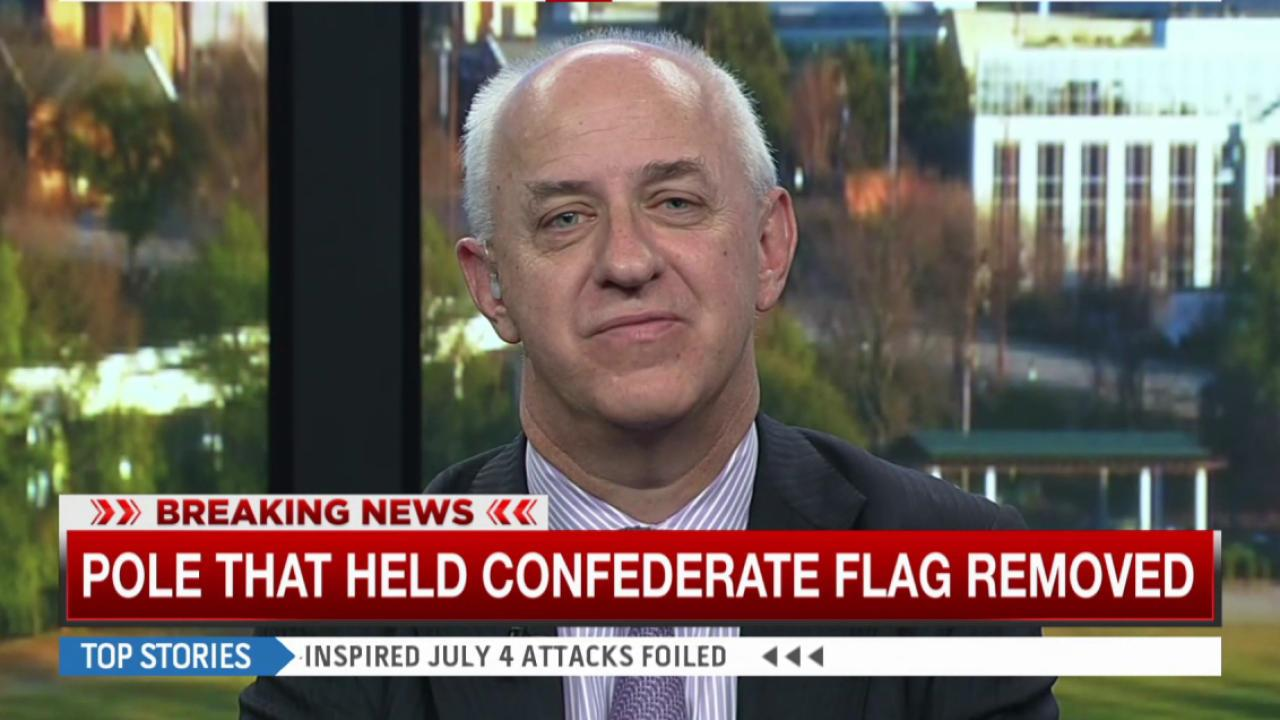Former SC gov on Confederate flag removal
