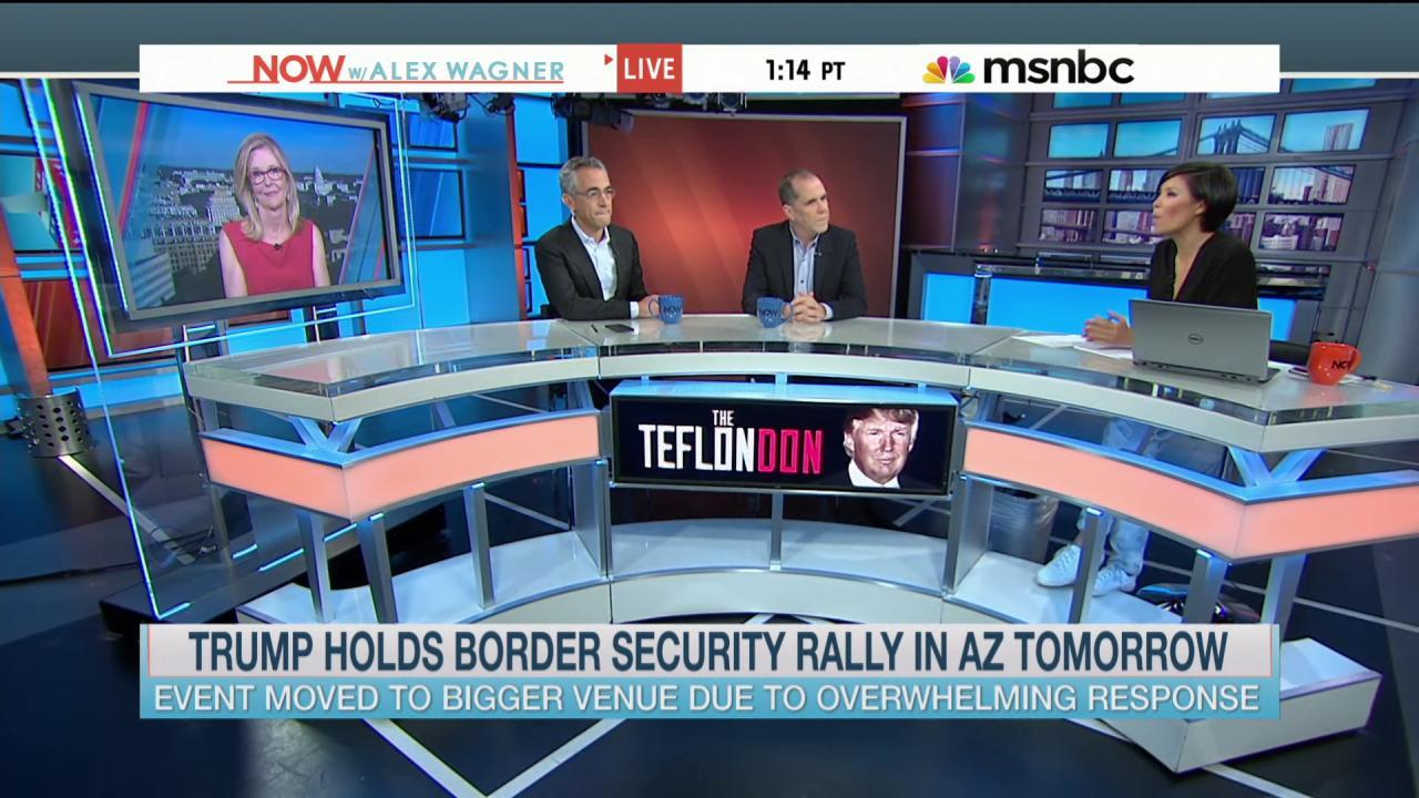 Trump to hold border security rally in...
