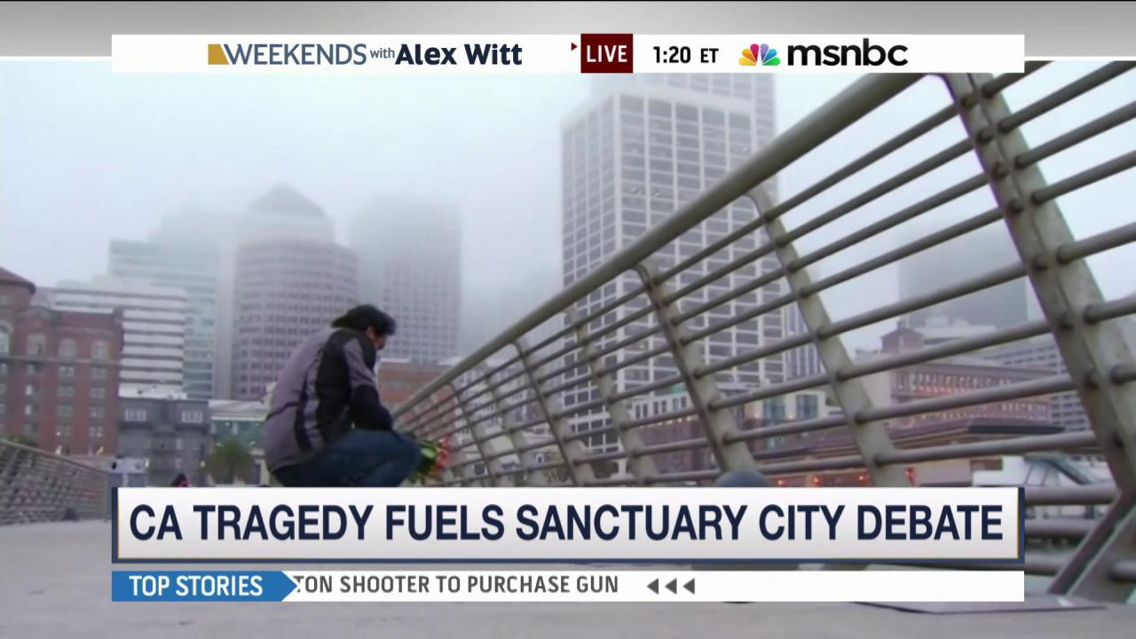 Tragedy prompts scrutiny of sanctuary cities