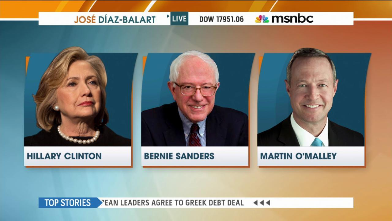 Clinton, Sanders make pitch to Latino voters