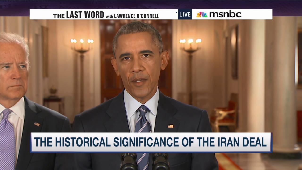 Iran Deal: another win for Pres. Obama?