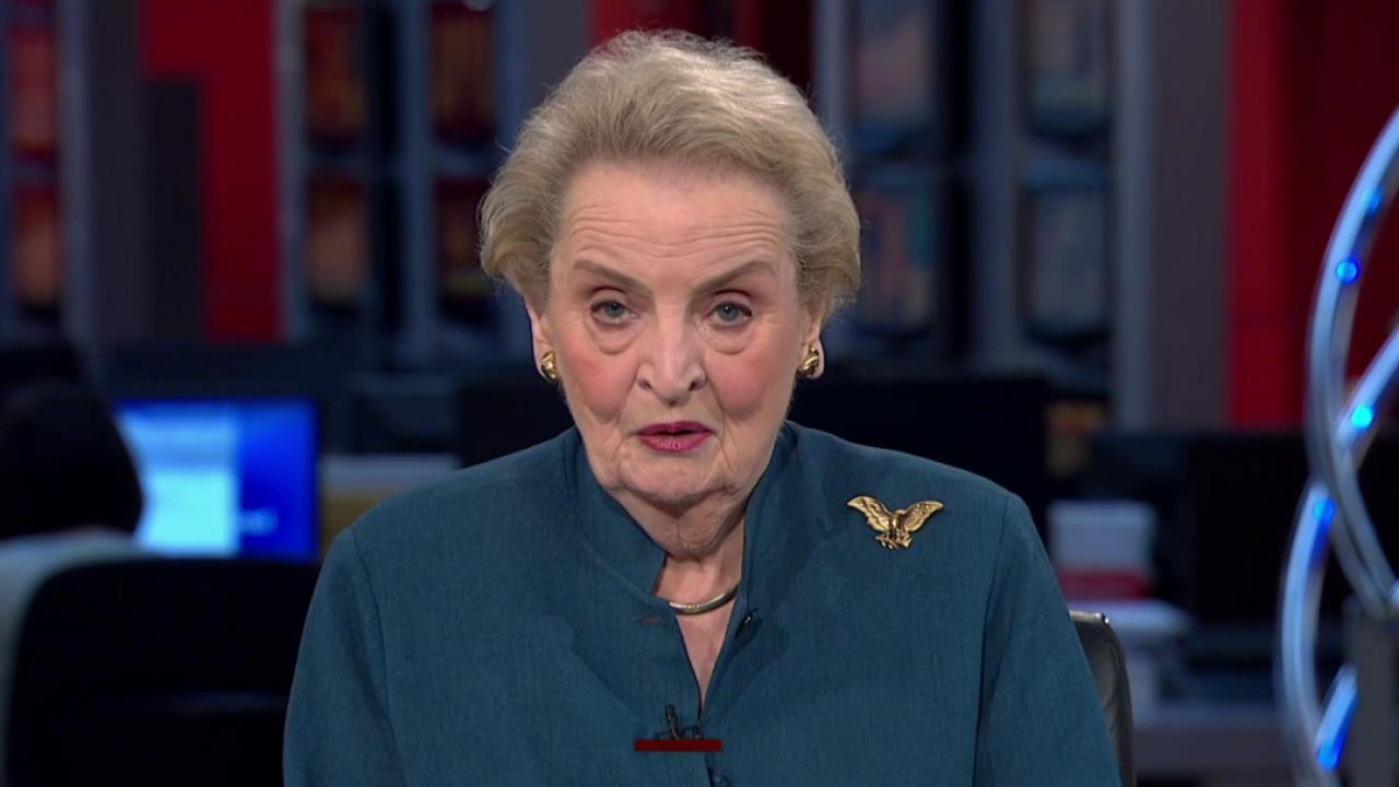 Albright: Deal about verifying, not about...