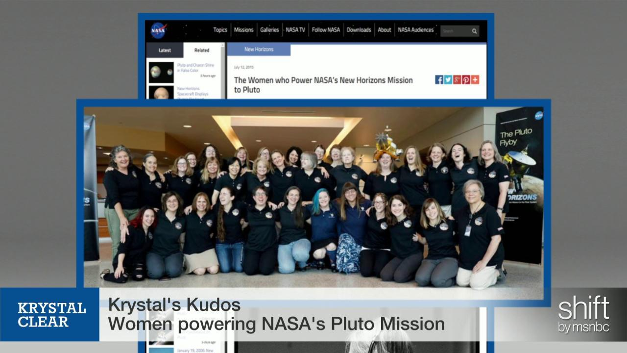 Kudos to the Women of NASA!