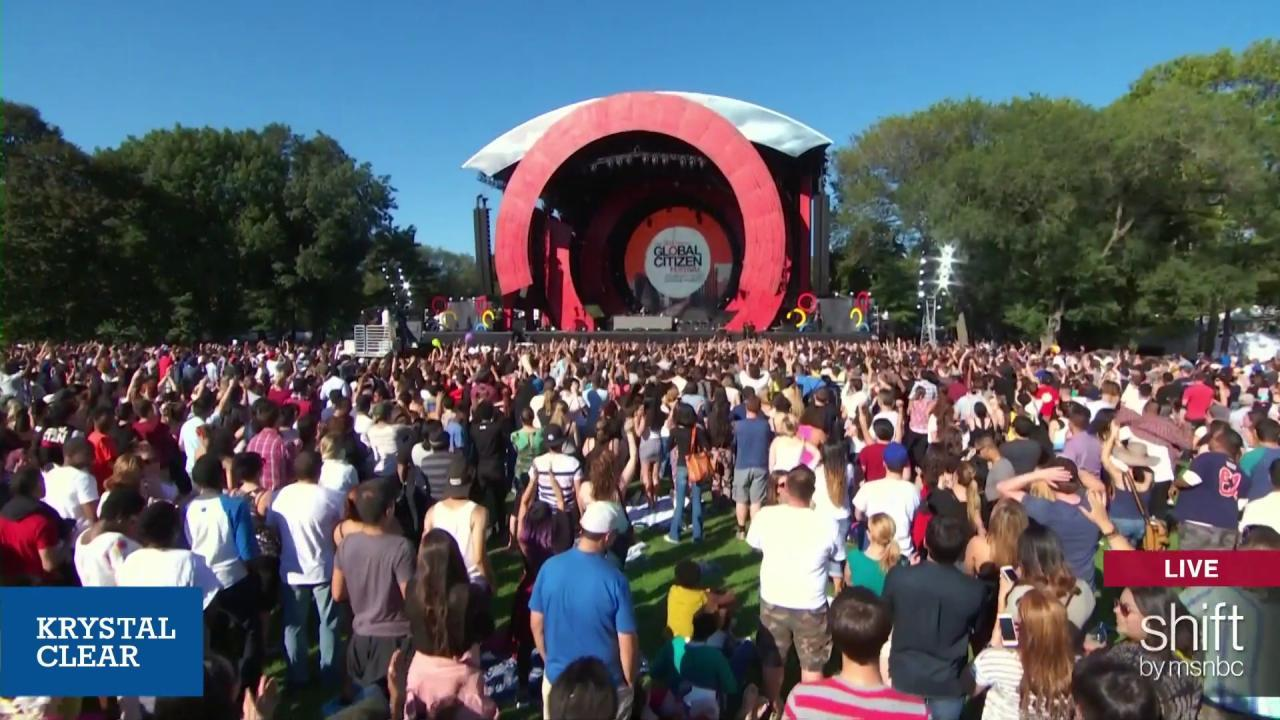 2015 Global Citizen Festival lineup unveiled