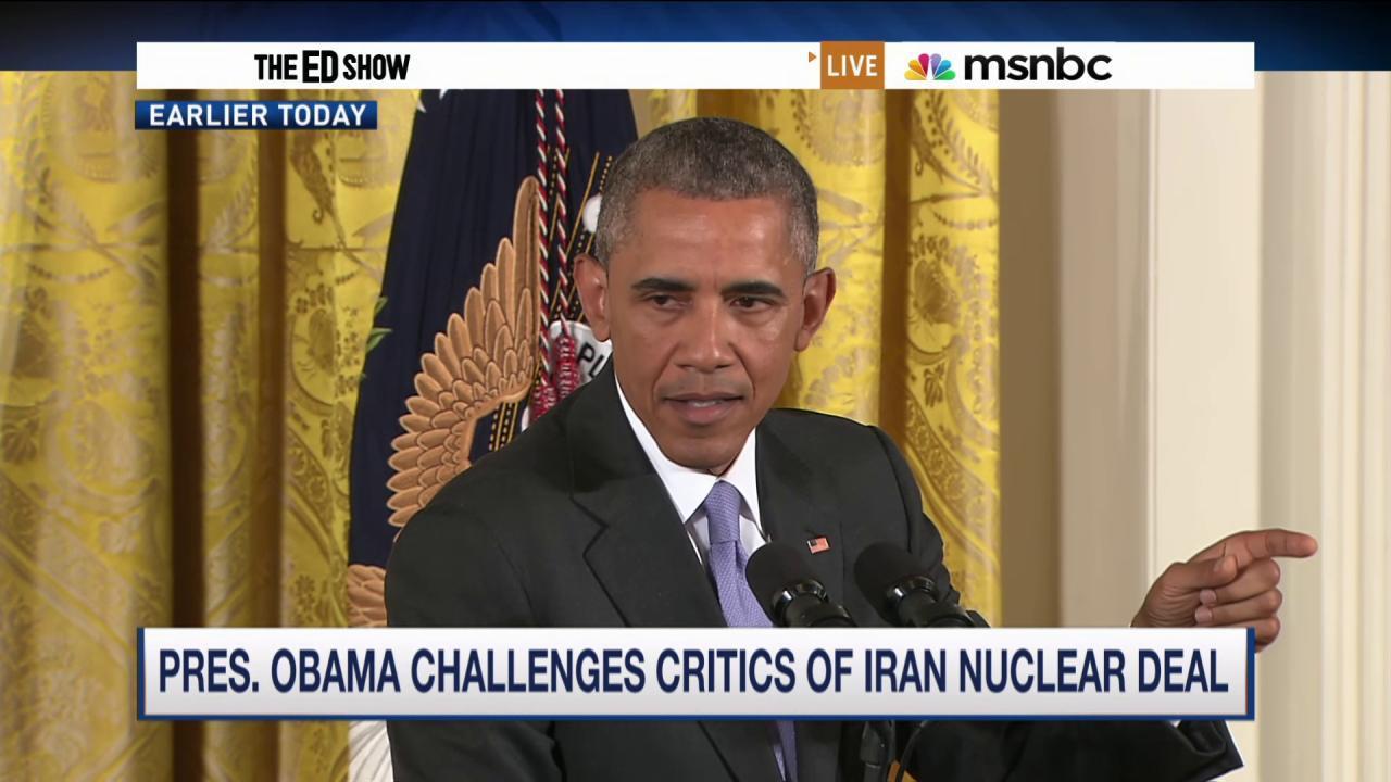 Obama challenges Iran deal critics