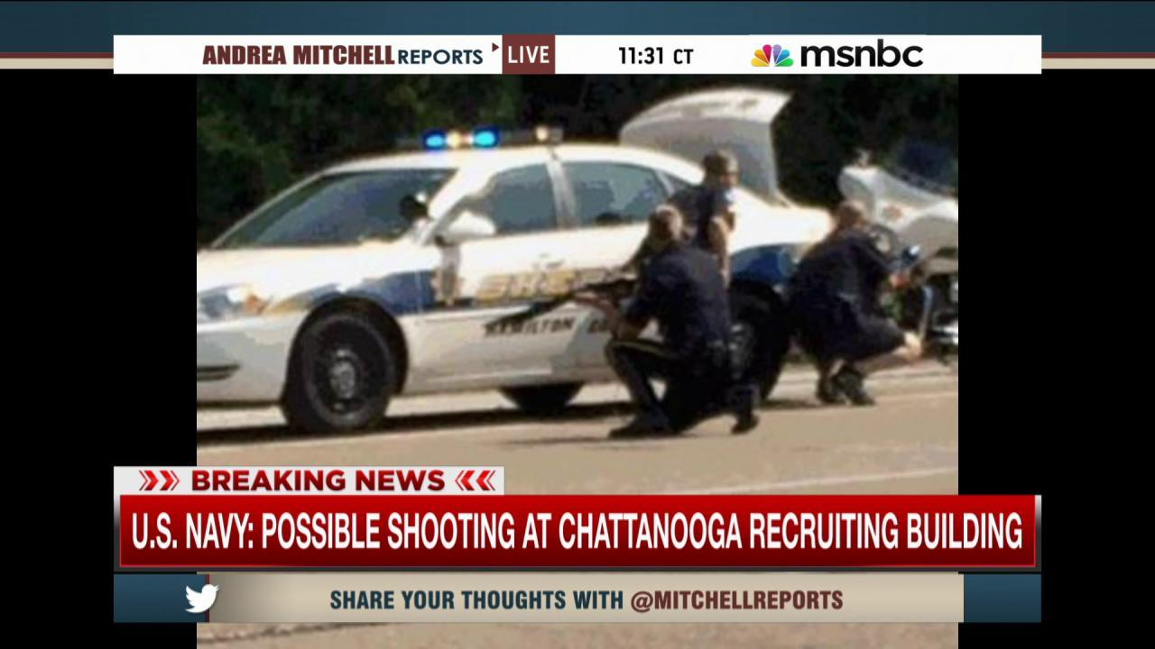 Injuries reported in Chattanooga shooting
