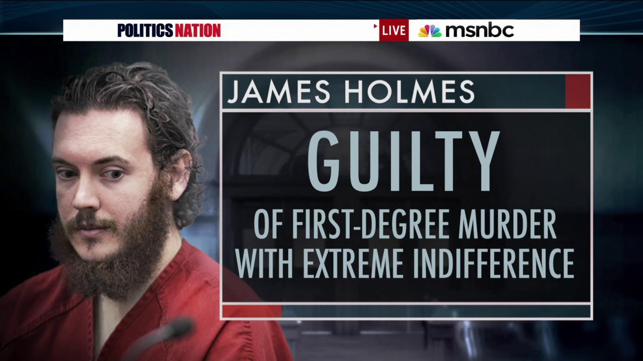 Aurora shooter James Holmes found guilty