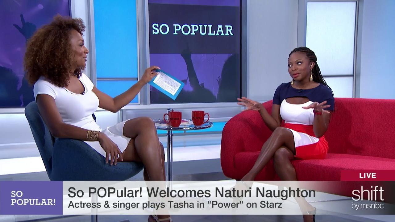 Naturi Naughton on starring in 'Power'