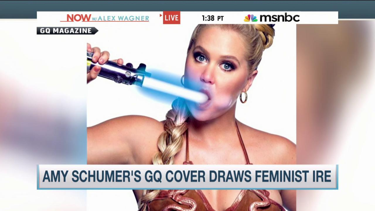 Does Amy Schumer have 'blind spot for...