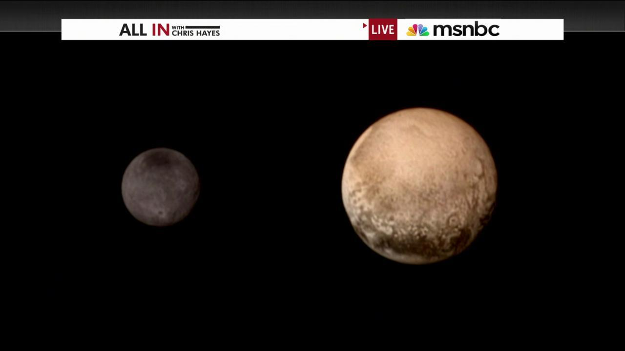The first ever close-up pictures of Pluto