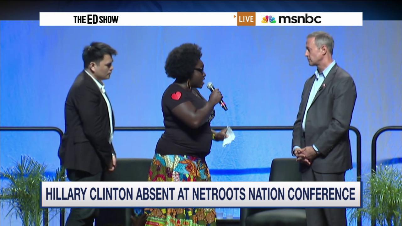 Black Lives Matter activists disrupt...
