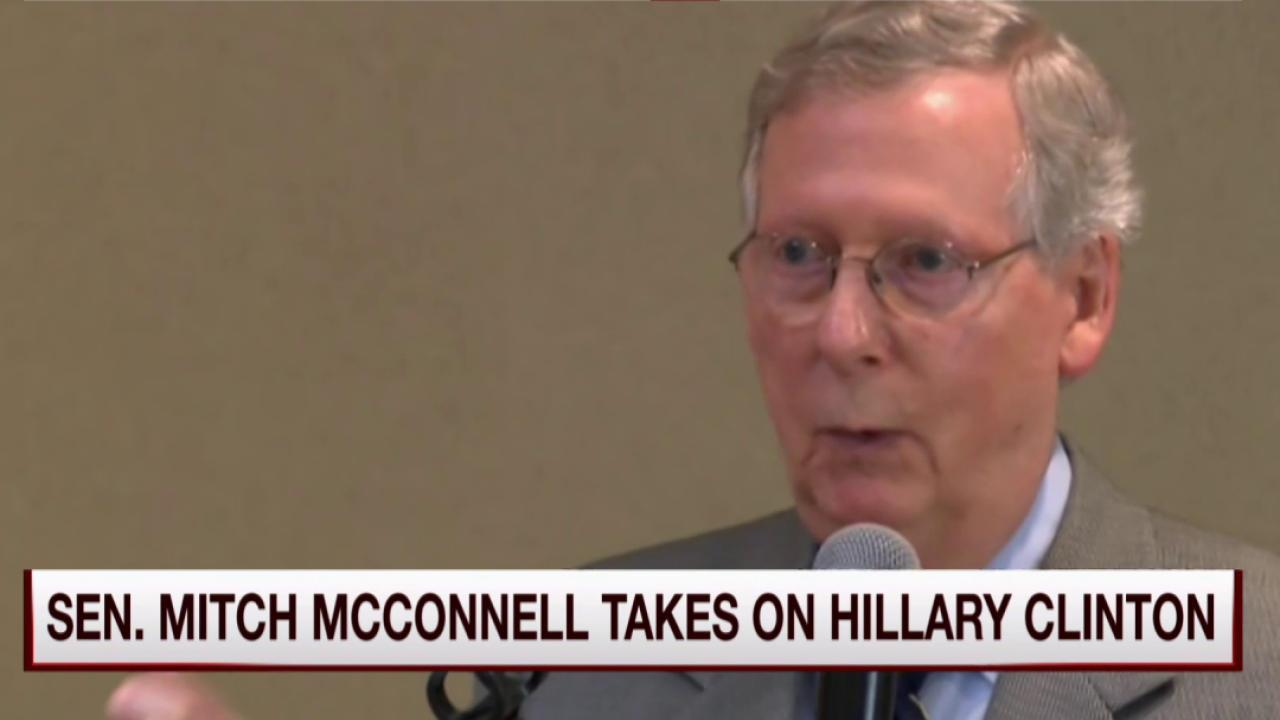 Mitch McConnell gives Hillary a big gift