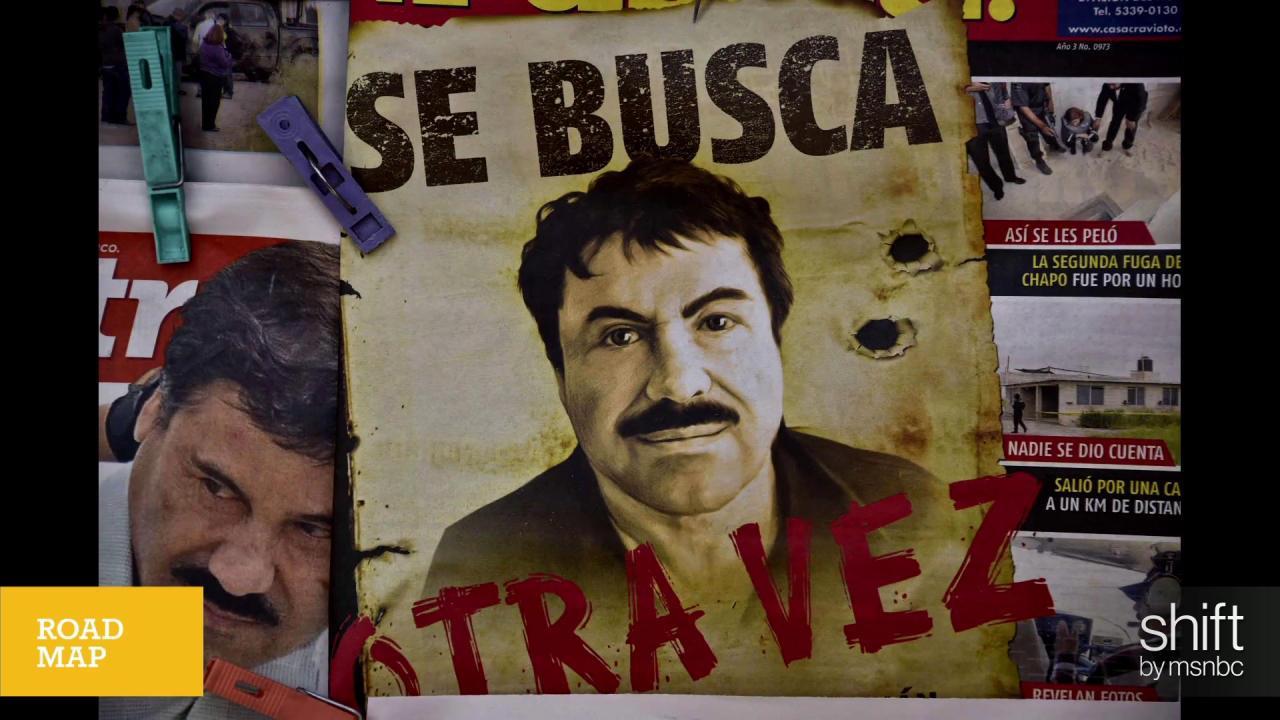 Why El Chapo captures imaginations
